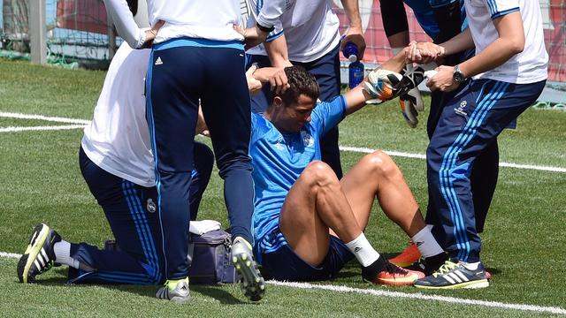 Champions League-finale niet in gevaar voor Ronaldo