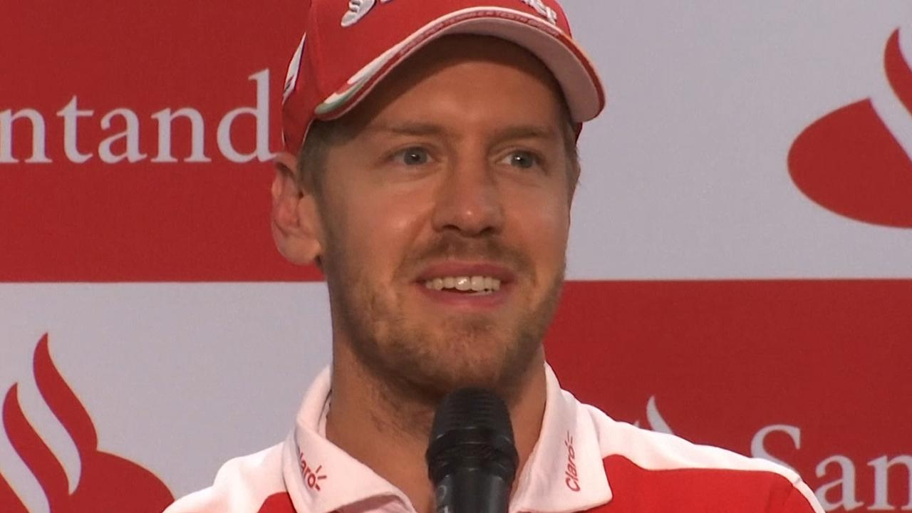 Vettel: 'Ferrari heeft iets goed te maken in Mexico'