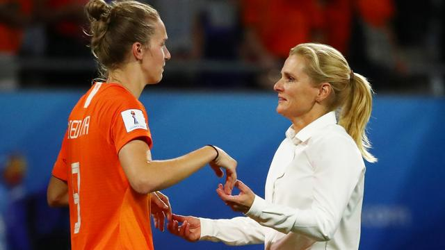 Wiegman positief gestemd voor 'heel moeilijke' WK-finale tegen VS