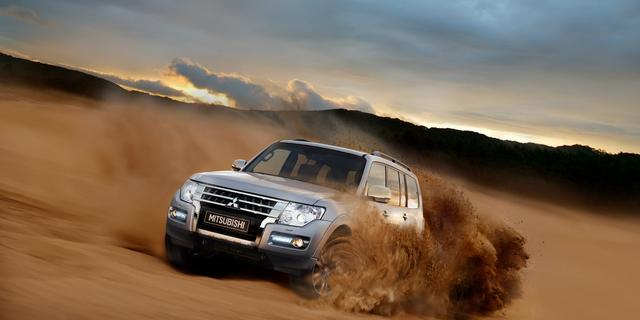 Mitsubishi Nederland neemt afscheid van Pajero-terreinwagen
