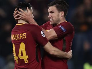 AS Roma voor het eerst naar halve finales Champions League
