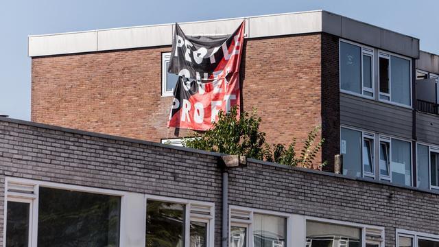 Politiek wil actie tegen krakers Kanaleneiland