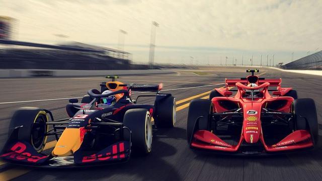 Formule 1 toont concepten voor 'sensationele' auto's vanaf 2021