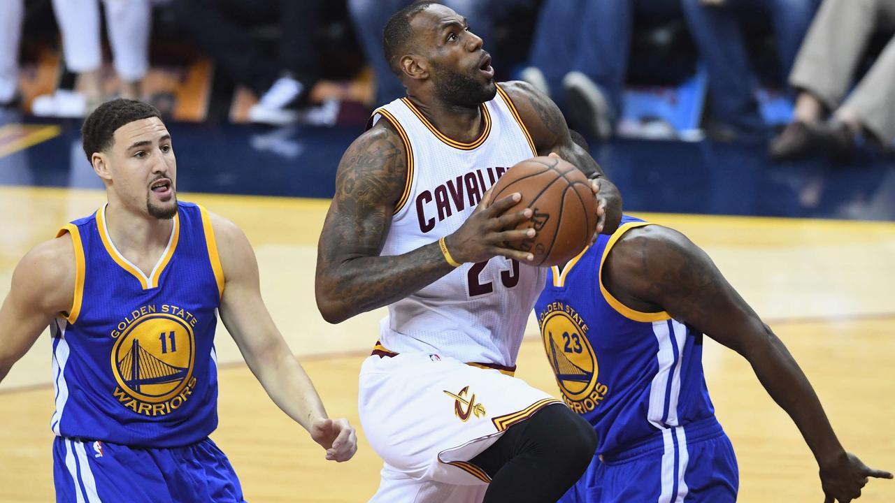 Cavaliers verslaan Warriors in derde duel NBA-finale