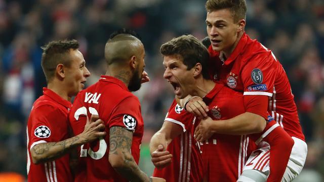 Liveblog CL: Ontketend Bayern verslaat Arsenal met 5-1