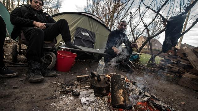 Rechters stellen ontruiming vluchtelingenkamp bij Calais uit