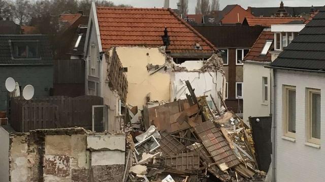 Geen gewonden na instorten woning in Venlo