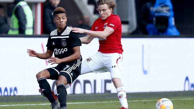 Ajax Hunting The Opening Goal Against Az In Alkmaar News