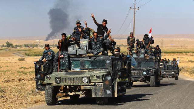 Leger Irak verovert grensplaats al-Qaim op IS