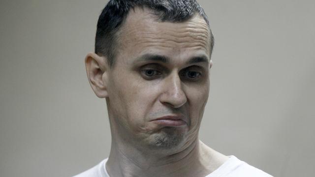 Situatie Oekraïense regisseur Sentsov kritiek door hongerstaking