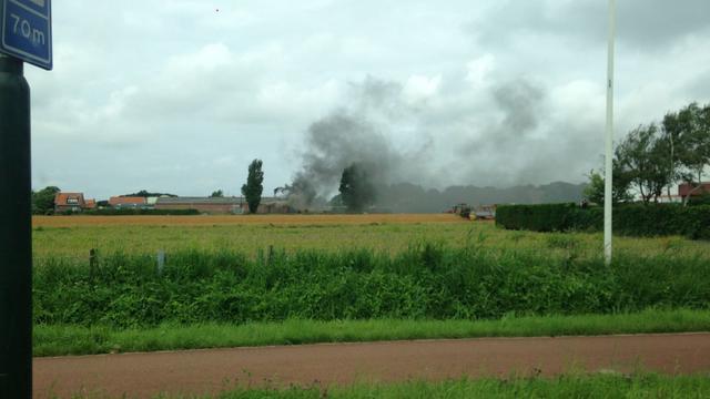 Asbest vrijgekomen na brand in afvalverwerkingsbedrijf Heiloo