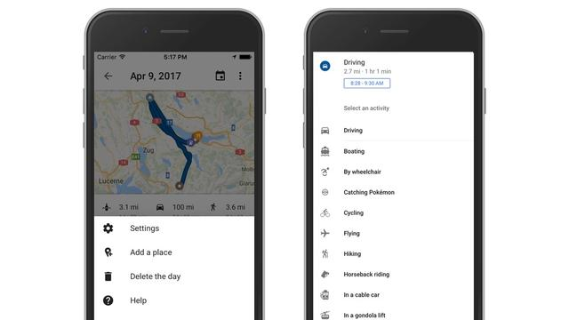 Google Maps op iOS krijgt tijdlijnfunctie