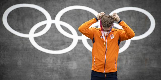 De Spelen tijdens corona: sporters hangen eigen medailles om