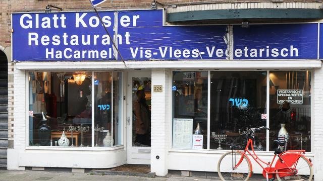 Ramen van eerder vernield joods restaurant besmeurd