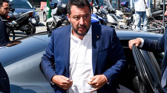 Vicepremier Italië: Regering valt, nieuwe verkiezingen noodzakelijk