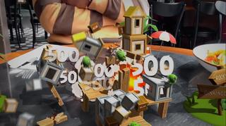 Gametrailer toont Angry Birds in augmented reality