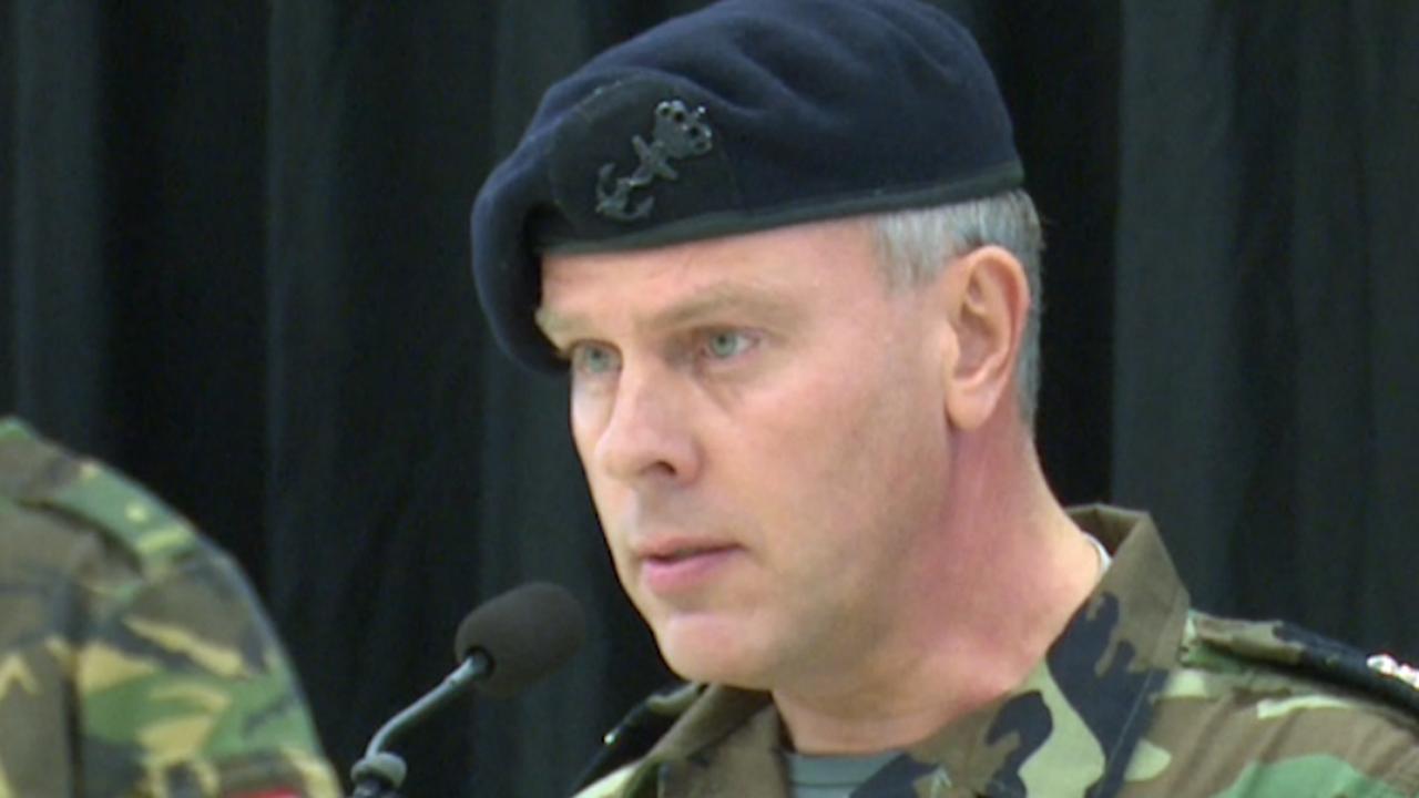 Nieuwe legercommandant: 'Als het moet zeg ik 'nee' tegen de politiek'