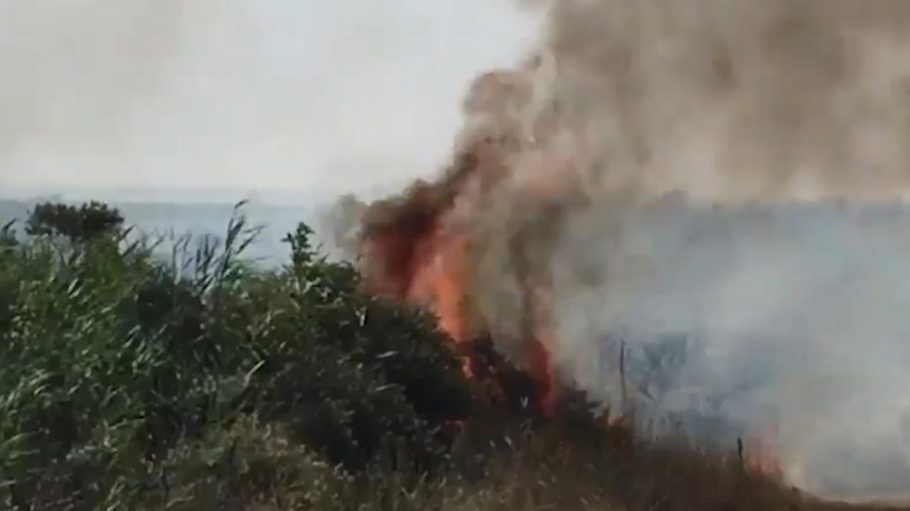 Man ontdekt duinbrand op Schiermonnikoog