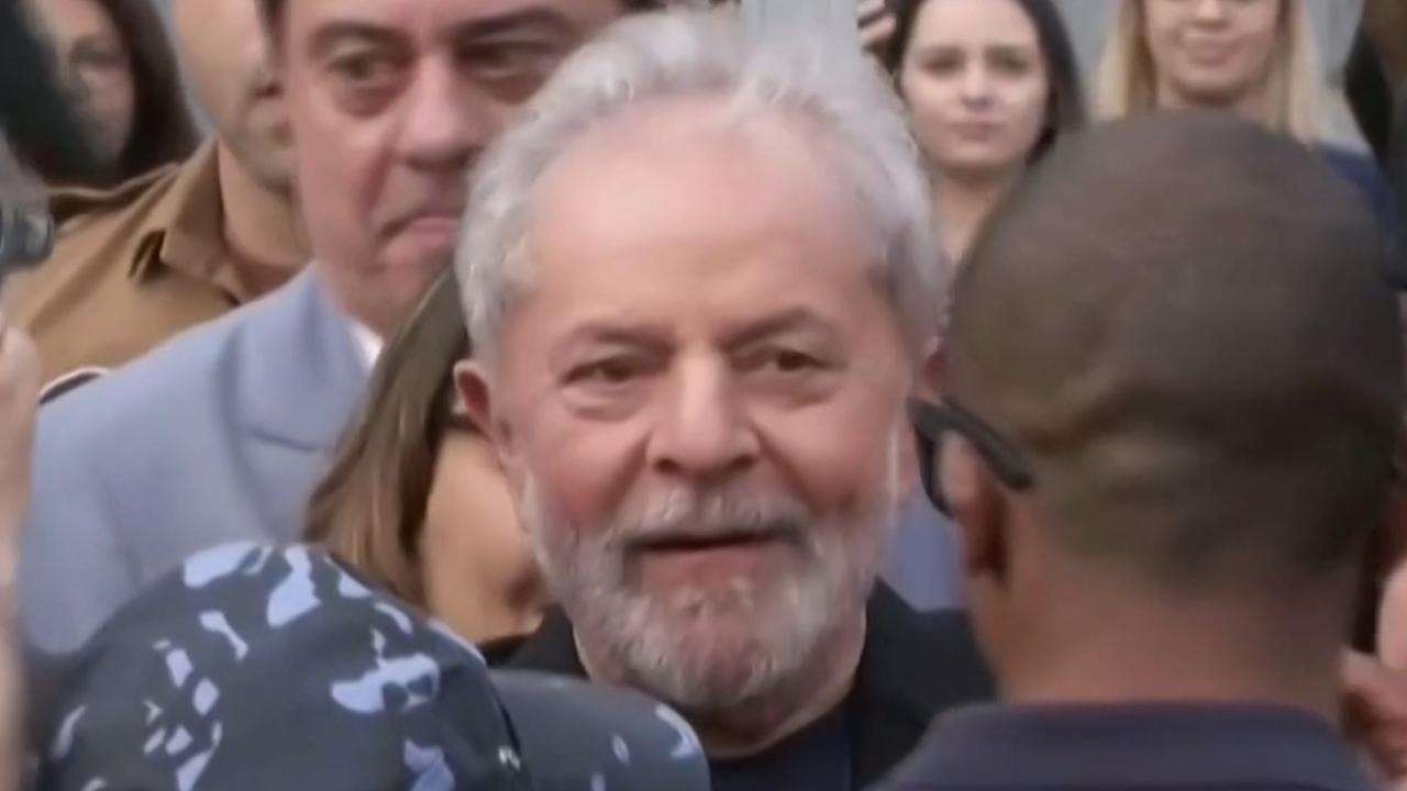 Braziliaanse oud-president Lula vrijgelaten
