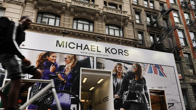 Modemerk Michael Kors behaalt hogere omzet en winst