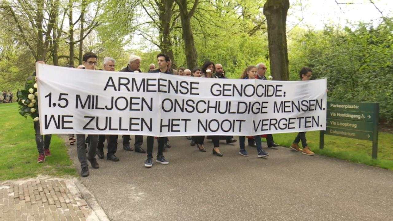 Hondervijftig mensen herdenken Armeense genocide in Assen