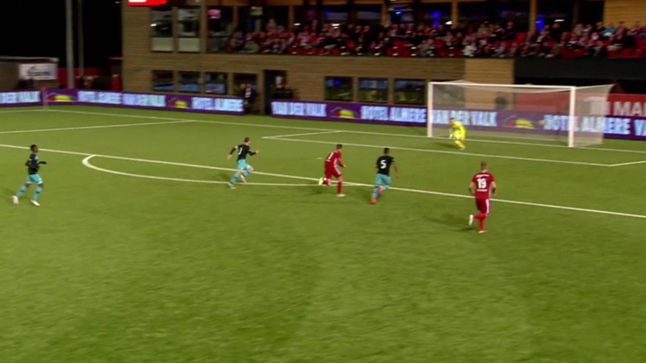 Samenvatting Almere City-Jong PSV