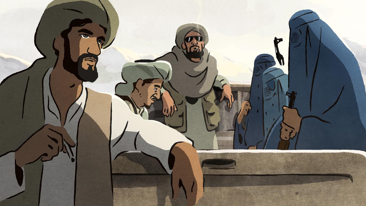 Bekijk hier de trailer van The Swallows of Kabul