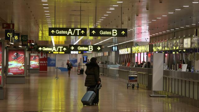 Passagier opgepakt na bomgrap op vliegveld Brussel