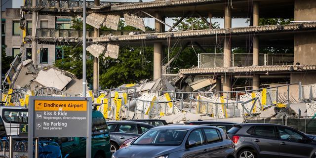 Bouwbedrijf BAM wist van scheuren ingestorte parkeergarage Eindhoven