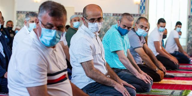 Moskee El Malik in Leiden gesloten vanwege oplopend aantal besmettingen