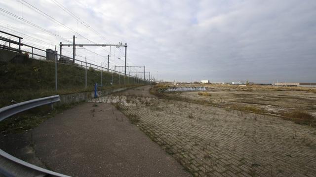 Kunstwerk CSM-terrein voor opening station klaar