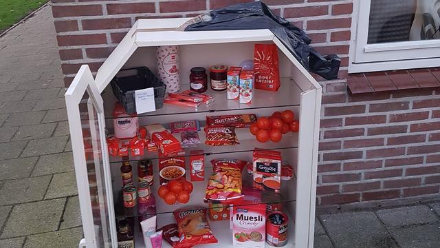 Gratis voedselvoorraadkasje Middelburg geplunderd op Valentijnsdag