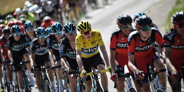 Eindklassementen Tour de France