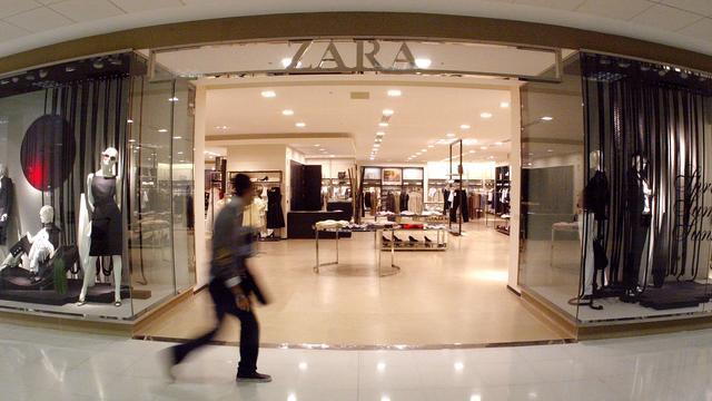 Moederbedrijf Zara rapporteert meer omzet en hogere winst