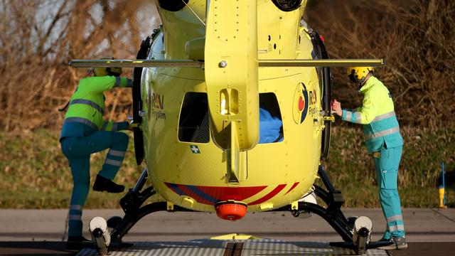 Traumahelikopter rukt uit na valse 112-melding in Goes