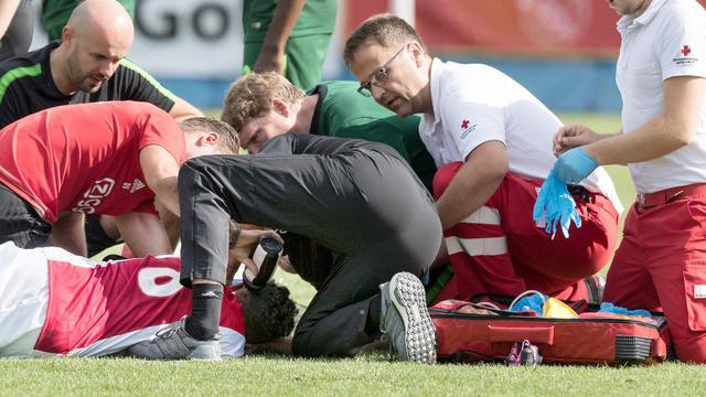 Ajax verwacht donderdag uitsluitsel over eventuele hersenschade Nouri