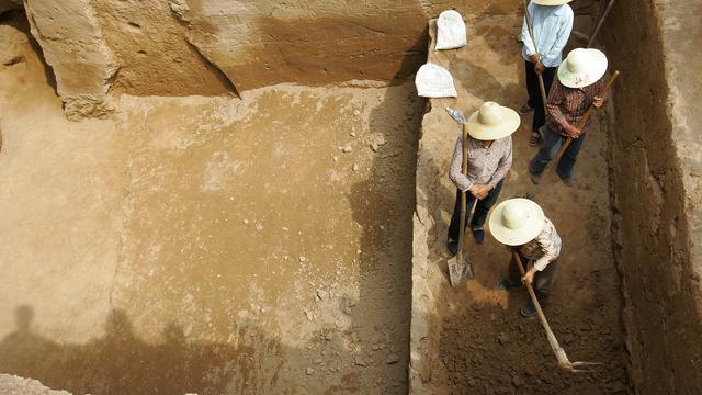 Eeuwenoud rijtuig opgegraven in Chinese provincie Hebei