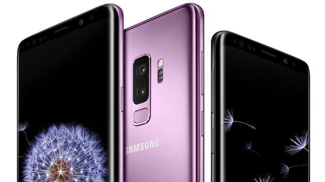 Paarse Galaxy S9 te zien op gelekte foto's