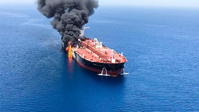 Verenigde Staten: Iran zit achter aanslagen op olietankers in Golf van Oman