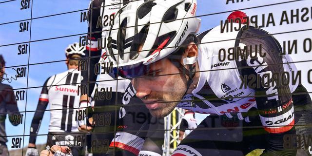 Dumoulin wordt bijgestaan door drie landgenoten in Giro d'Italia