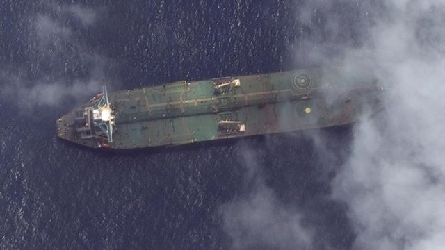 'Verdwenen' Iraanse olietanker ondanks sancties voor Syrische kust gezien