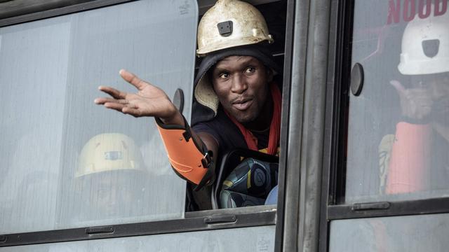 Negenhonderd opgesloten mijnwerkers na twee dagen gered in Zuid-Afrika