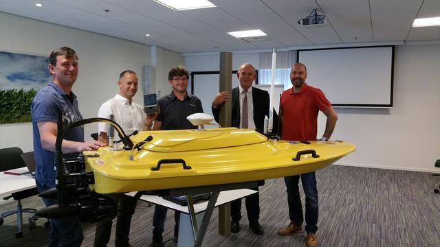 Zeeuwse waterschappers testen nieuwe toepassingen