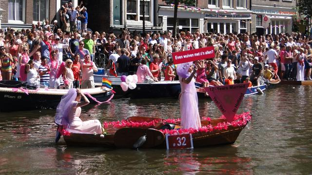 Nog veel Nederlanders hebben moeite met Gay Pride
