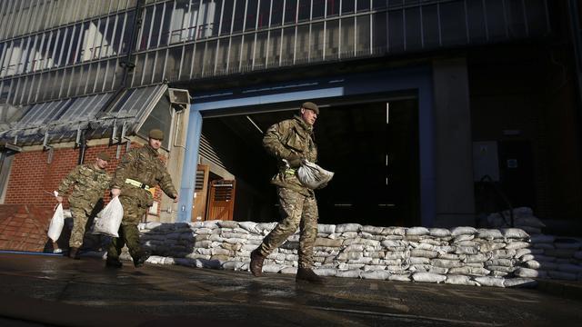 Plunderaars actief in overstroomde huizen Engeland