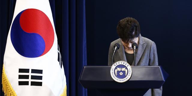 Parlement Zuid-Korea stelt president Park in staat van beschuldiging
