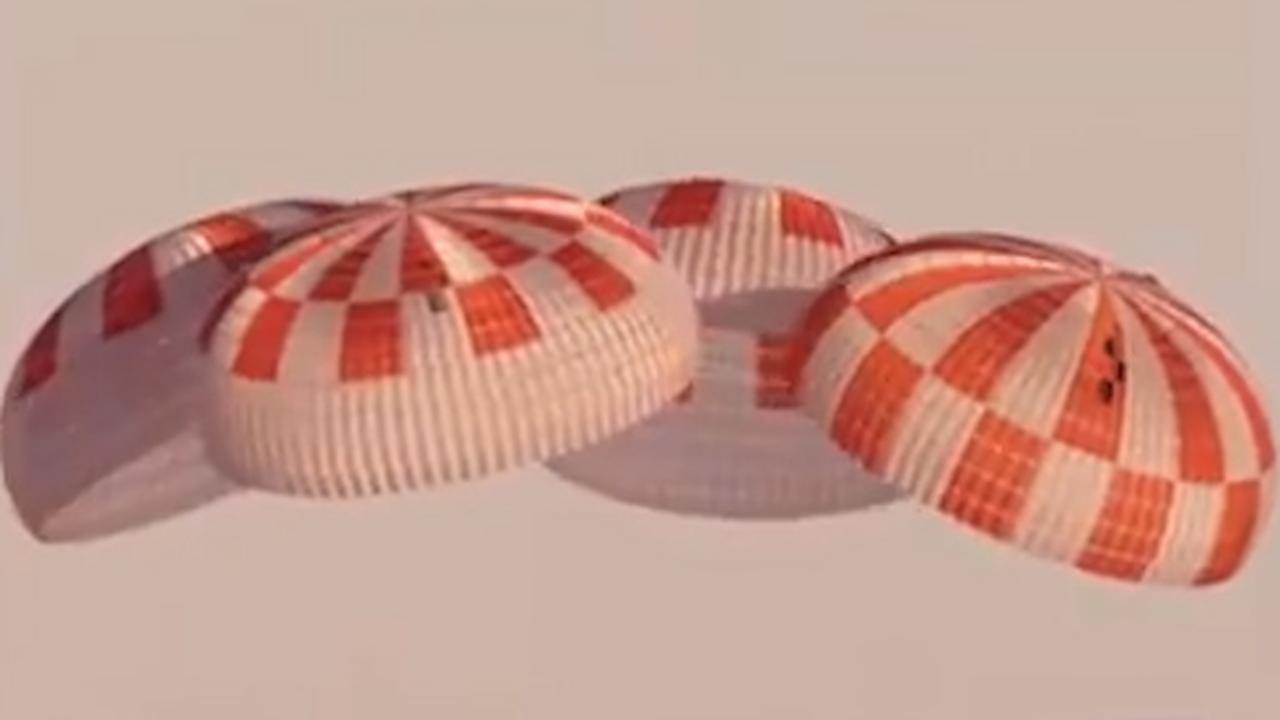 NASA test nieuwe parachutes uit