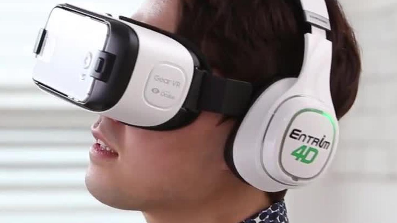 Samsung laat drager virtualrealitybril bewegingen 'voelen'