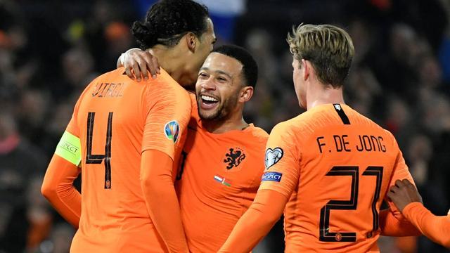 Uitblinker Memphis: 'Het is op en naast het veld genieten bij Oranje'