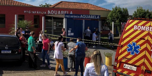 Vijf doden bij aanval met kapmes op kinderdagverblijf in Brazilië